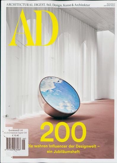 Architectural Digest Deutsch magazine cover