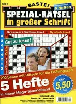 Spezial Ratsel in Grosser Schrift Sammelband magazine cover