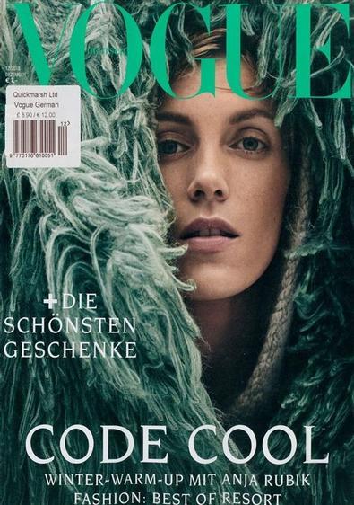 Vogue Deutsch magazine cover
