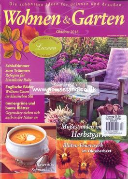 wohnen garten magazine subscription. Black Bedroom Furniture Sets. Home Design Ideas