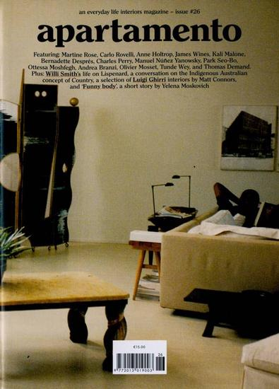 Apartamento magazine cover