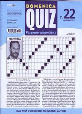 Domenica Quiz (Italy) magazine cover