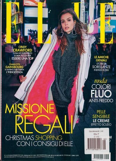 Elle (Italy) magazine cover