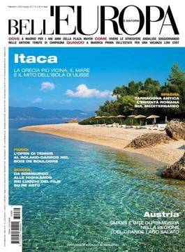 Bell Europa (Italy) magazine cover