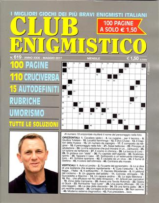Club Enigmistico (Italy) magazine cover