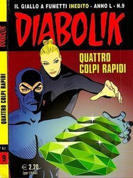 Diabolik Inedito (Italy) magazine cover