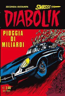 Diabolik Swiss (Italy) magazine cover
