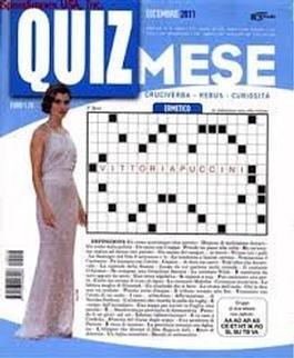 Domenica Quiz Mese (Italy) magazine cover