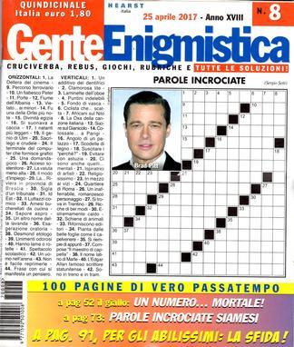 Gente Enigmistica (Italy) magazine cover