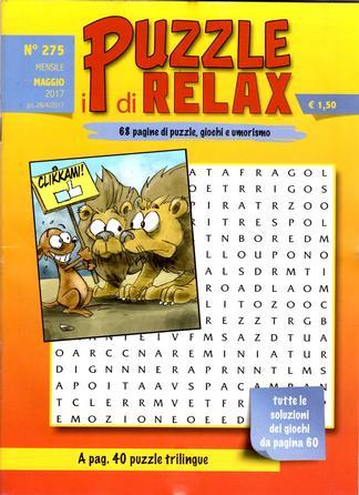 I Puzzle Di Relax magazine cover