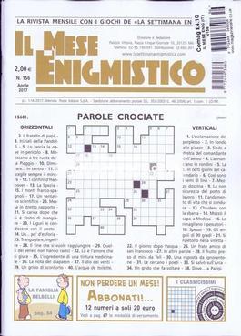 Il Mese Enigmistica magazine cover