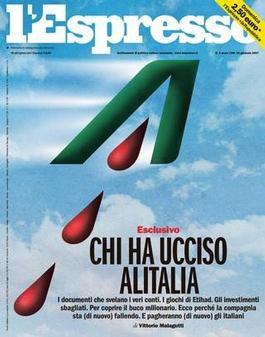 L'Espresso magazine cover