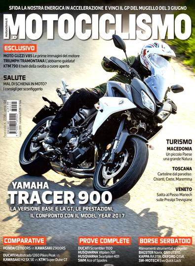 Motociclismo (Italy) magazine cover