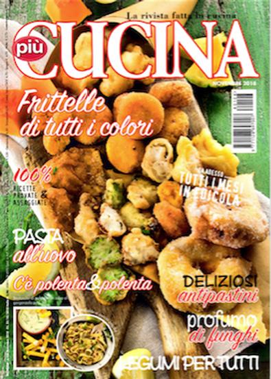 Piu' Cucina (Italy) magazine cover