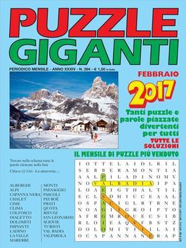 Puzzle Giganti (Italy) magazine cover
