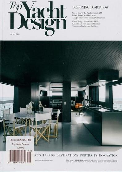 Top Yacht Design (Italy) magazine cover