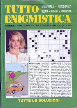 Tutto Enigmistica (Italy) magazine cover