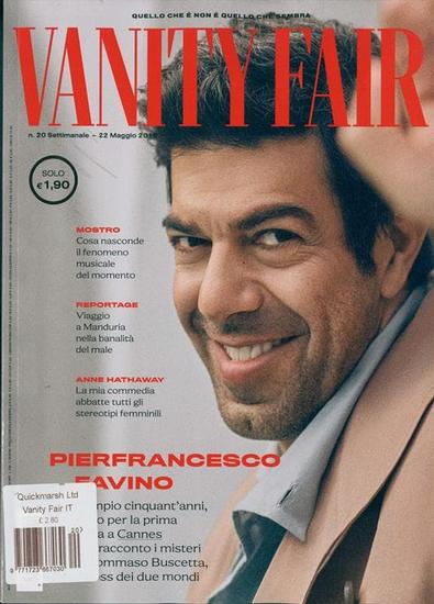 Vanity Fair (Italy) magazine cover