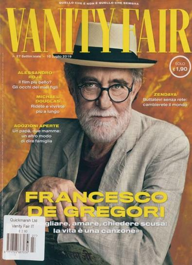 Vanity Fair (Italy) magazine cover