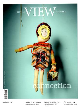 Textile View (Netherlands) magazine cover