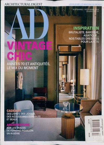 AD France magazine cover