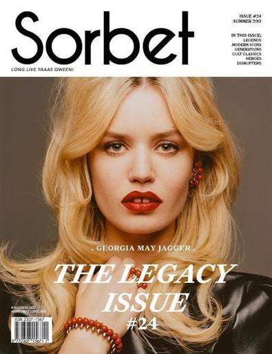 Sorbet magazine cover