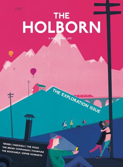 THE HOLBORN magazine cover