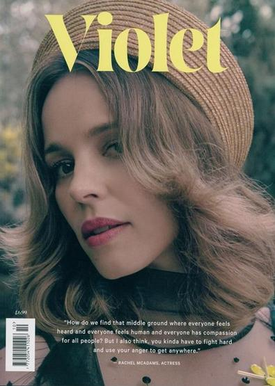 Violet magazine cover