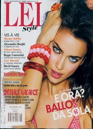 LEI Style magazine cover