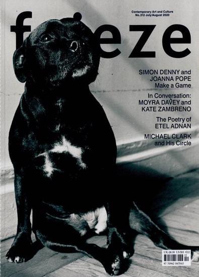 Frieze (UK) magazine cover