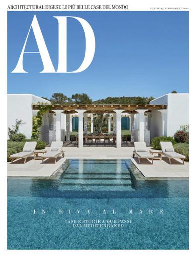 Architectural Digest Italia magazine cover