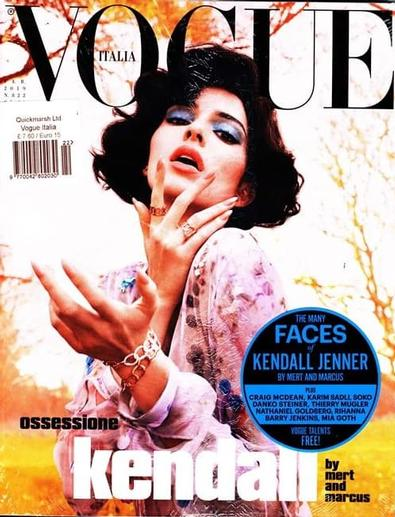 Vogue Italia magazine cover