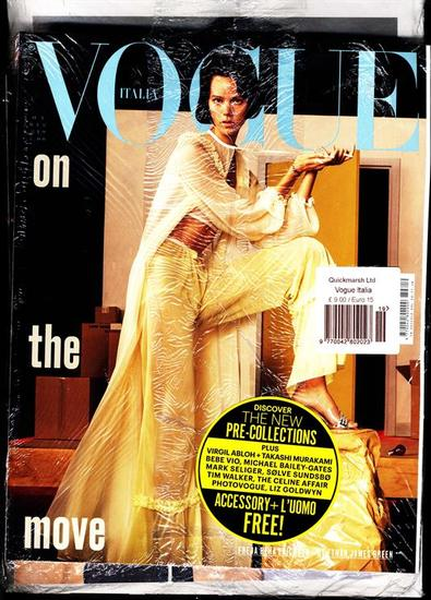 Vogue Italia magazine cover