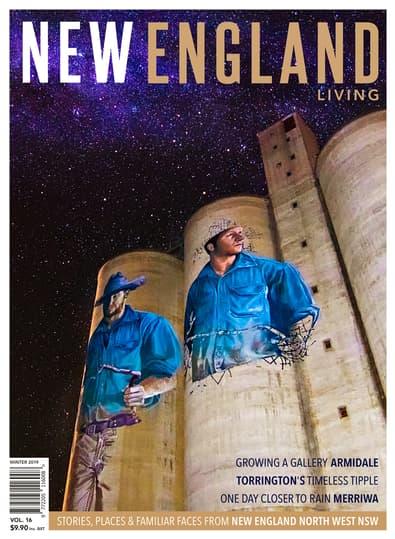 New England Living magazine cover