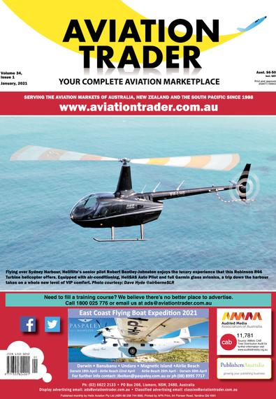 Aviation Trader magazine cover