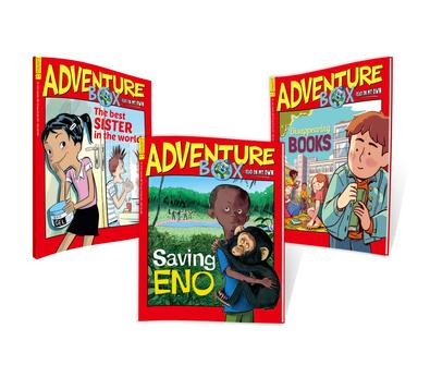 AdventureBox magazine cover