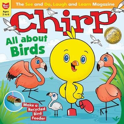 Chirp magazine cover