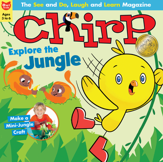 Chirp magazine cover
