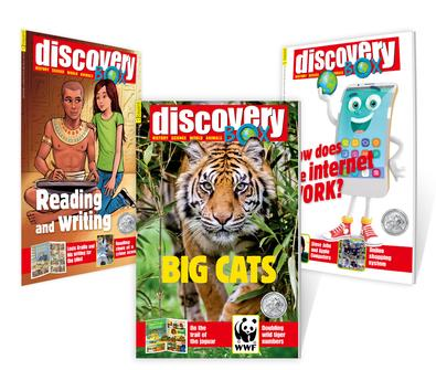 DiscoveryBox magazine cover