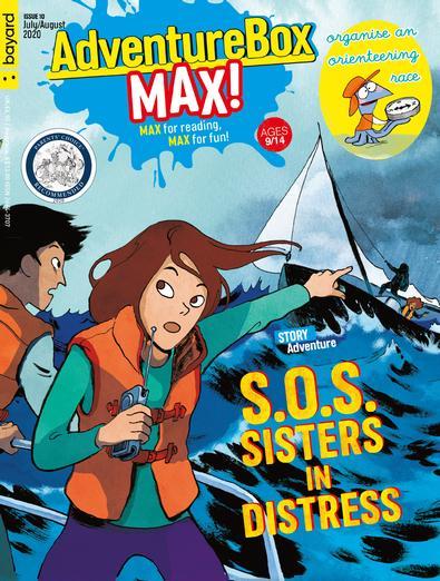 AdventureBox Max magazine cover