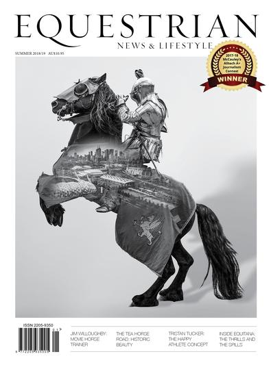 Equestrian News & Lifestyle magazine cover
