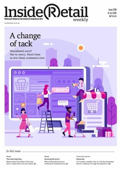 Inside Retail WEEKLY magazine cover