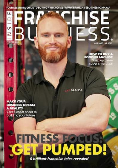 Inside Franchise Business magazine cover