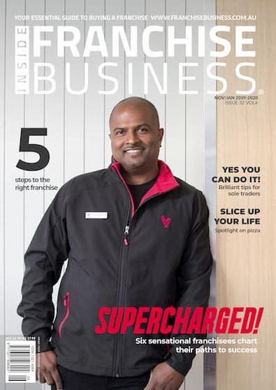 Inside Franchise Business magazine cover