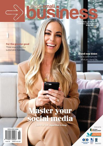 Inside Small Business magazine cover