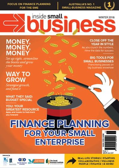 Inside Small Business Print & Digital magazine cover