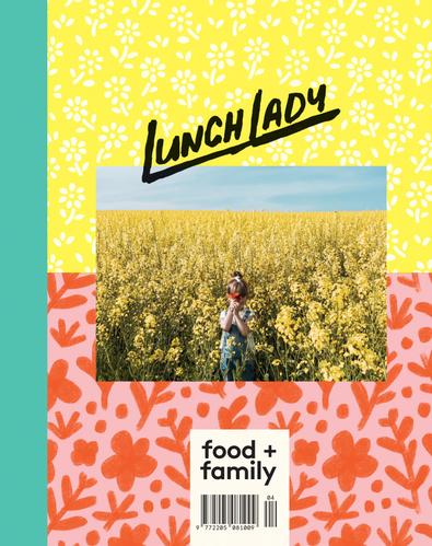 Lunch Lady Magazine cover