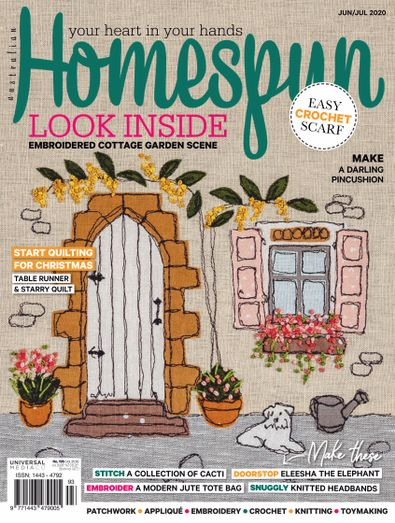 Australian Homespun  digital cover