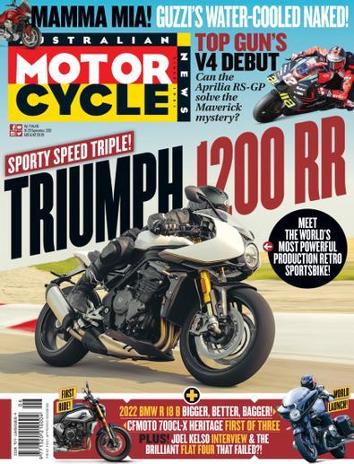 Australian Motorcycle News digital cover