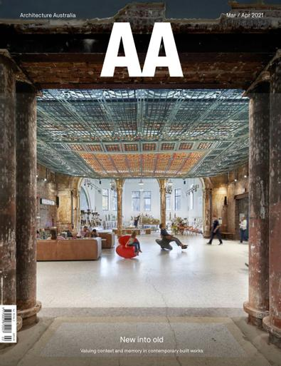 Architecture Australia digital cover